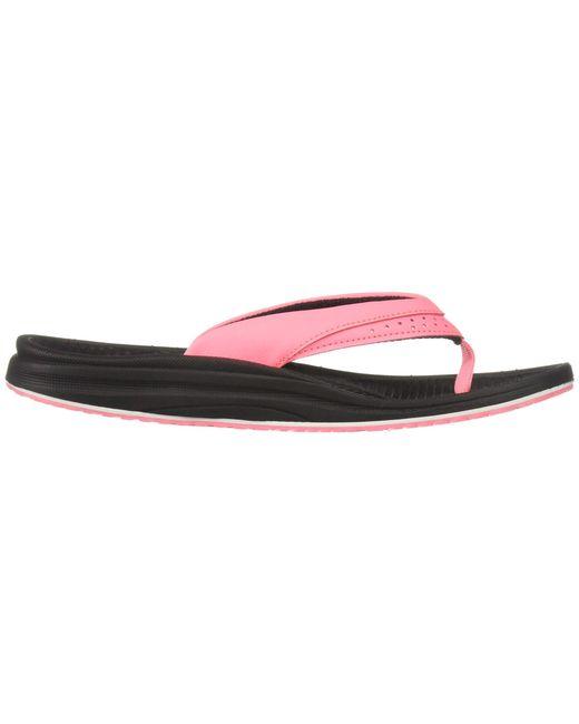 94cf92fa9d0 ... Lyst New Balance - Pink Renew Thong (rose Gold) Women s Sandals ...