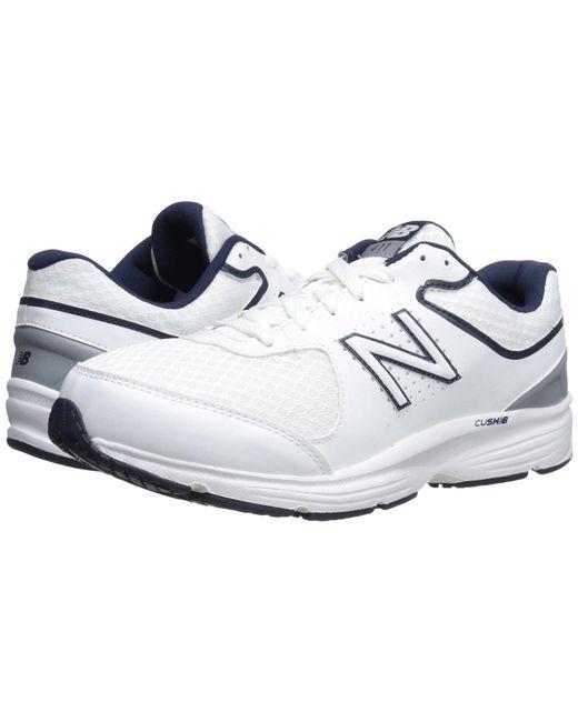 New Balance - White Mw411v2 (grey) Men's Walking Shoes for Men - Lyst