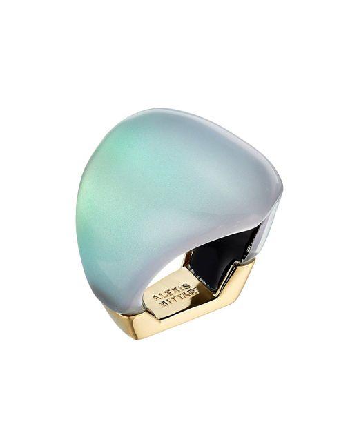 Alexis Bittar - Multicolor Asymmetrical Block Ring - Lyst