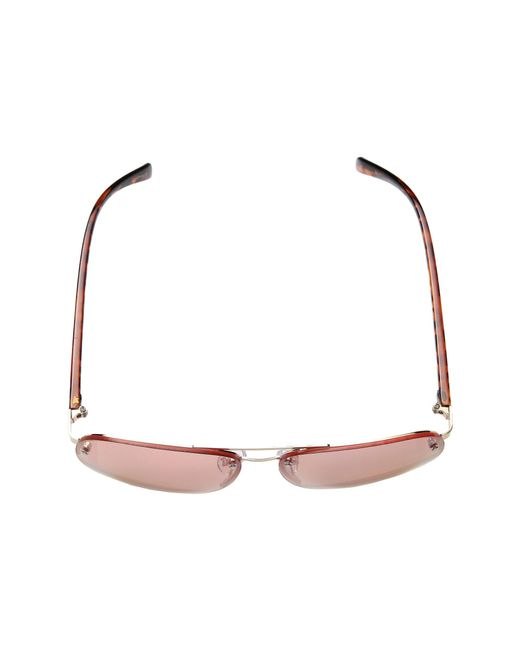 682785a9dd ... Steve Madden - Pink Christina (gold rose Lens) Fashion Sunglasses - Lyst