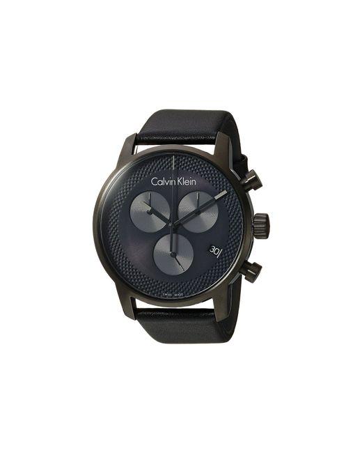 Calvin Klein - Gray City Watch - K2g177c3 (cool Grey/black) Watches for Men - Lyst