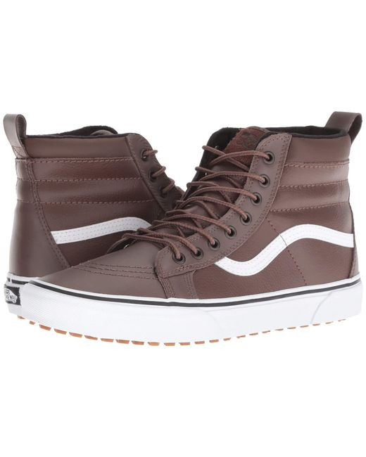 11e3080ab46824 Lyst - Vans Sk8-hi Mte ((mte) Suede chocolate Torte) Skate Shoes in ...