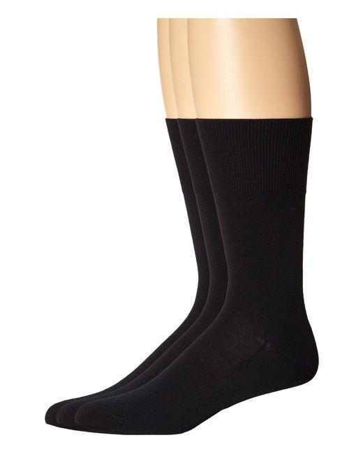 Falke - Blue Airport Crew Socks for Men - Lyst
