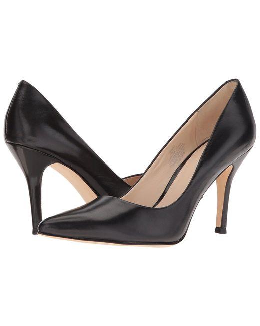 Nine West - Black Flax Pump (ligna Kid Leather) High Heels - Lyst