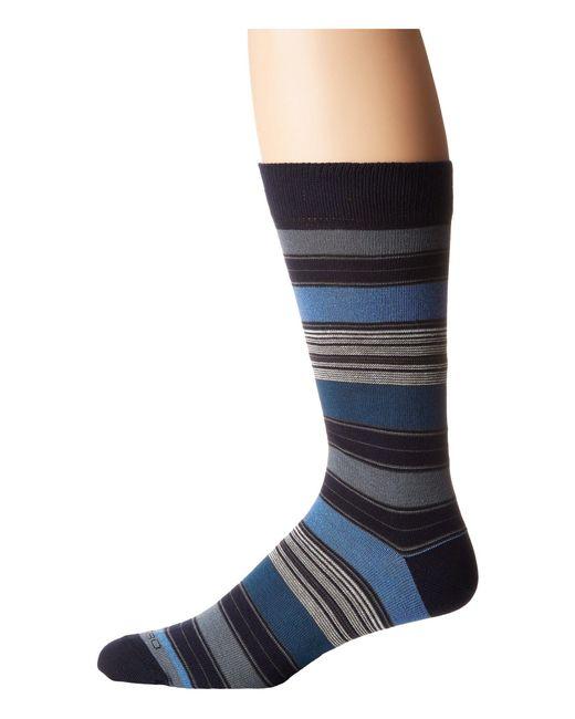 Etro | Blue Striped Socks for Men | Lyst