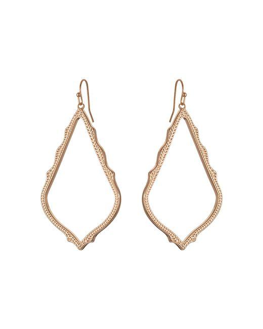 Kendra Scott   Pink Sophee Earring   Lyst