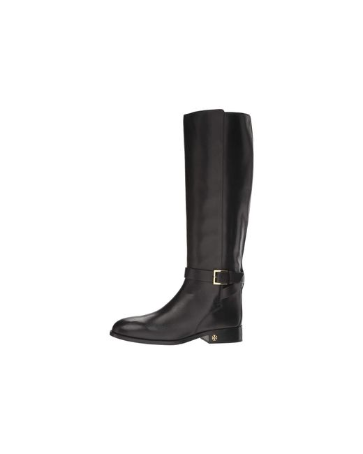 89daf30f6 Lyst - Tory Burch Brooke Riding Boots in Black - Save 66%