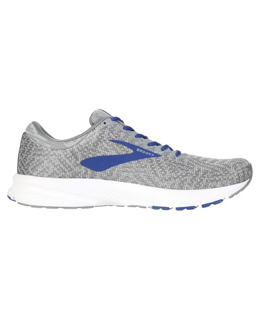 7d6a988dd06 ... Brooks - Blue Launch 6 (peacoat primer silver) Men s Running Shoes for  ...