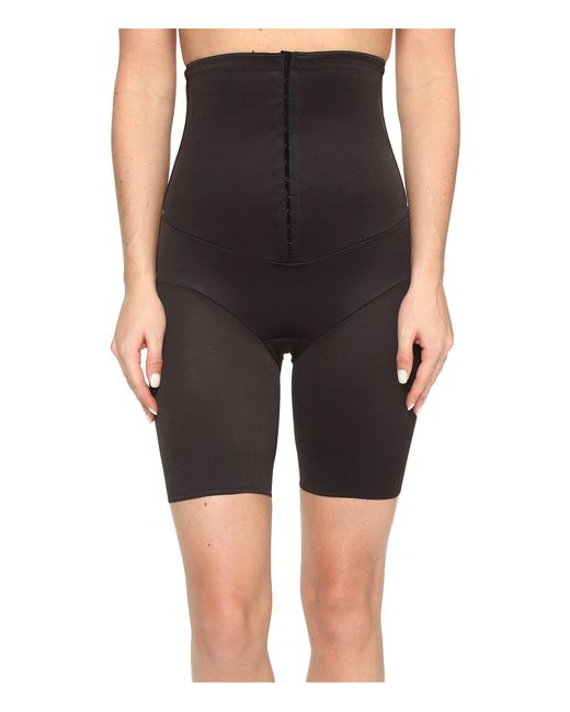 Miraclesuit - Black Inches Off Hook & Eye Waist Cinching Thigh Slimmer - Lyst