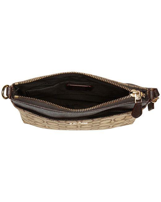 0b0c1c234e ... COACH - Signature Messenger Crossbody (light khaki brown) Cross Body  Handbags ...