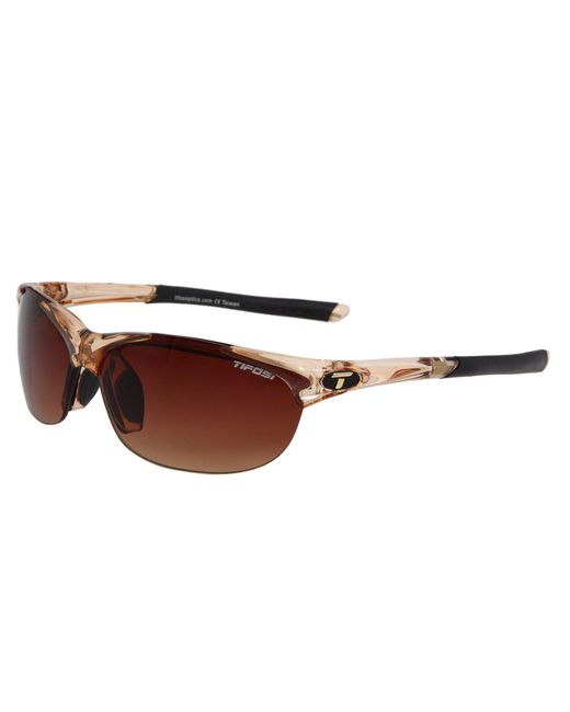 Tifosi Optics - Brown Wisptm Interchangeable (race Pink/smoke/ac Red/clear Lens) Sport Sunglasses - Lyst