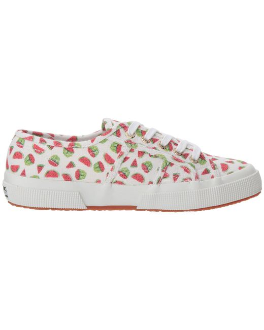 Superga 2750 Linen Fruitw Sneaker 7wryei