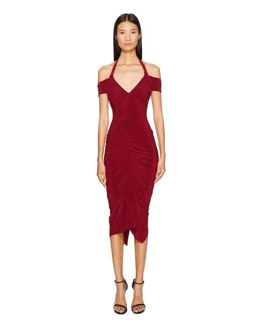 Preen By Thornton Bregazzi   Red Clara Dress   Lyst