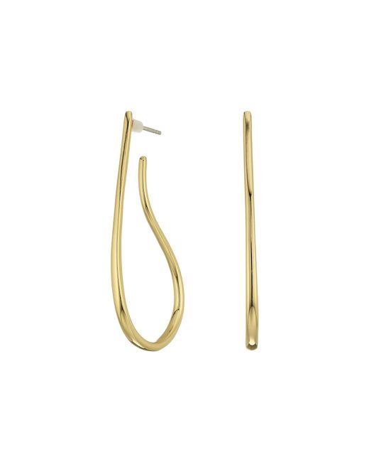 Elizabeth and James | Metallic Helene Earrings | Lyst