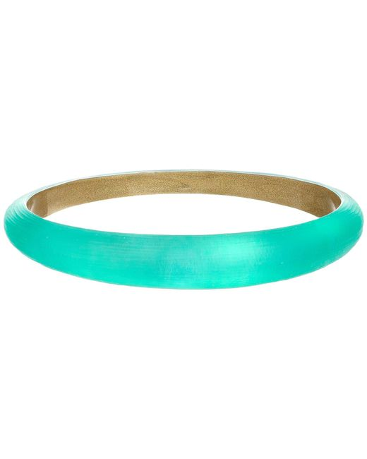 Alexis Bittar | Green Skinny Tapered Bangle | Lyst