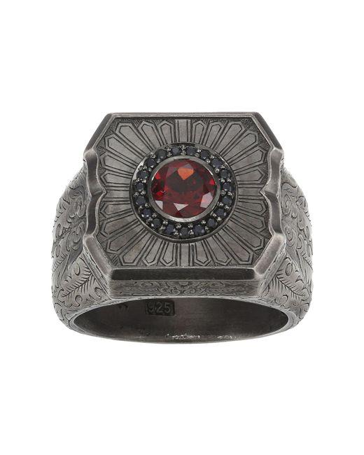 Stephen Webster | Black Large Cigar Leaf Ring for Men | Lyst
