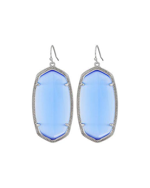 Kendra Scott | Blue Danielle Earrings | Lyst