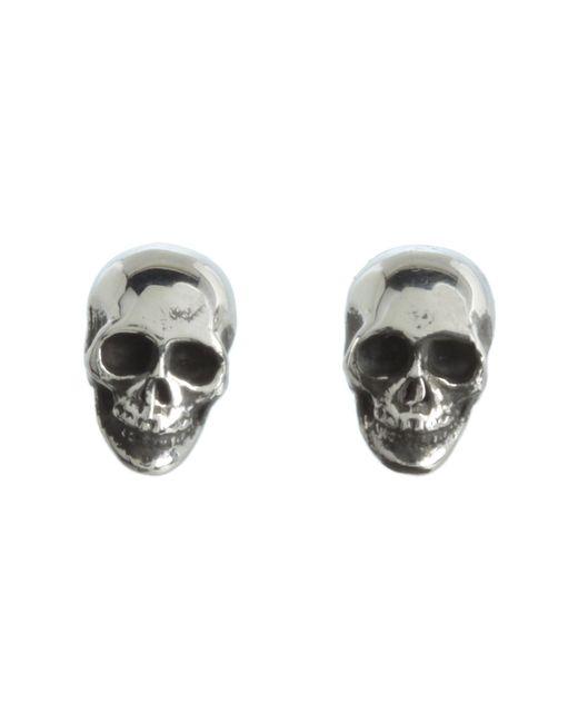 King Baby Studio | Metallic Skull Post Earrings | Lyst