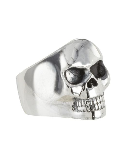 King Baby Studio | Metallic Small Classic Skull Ring Size | Lyst