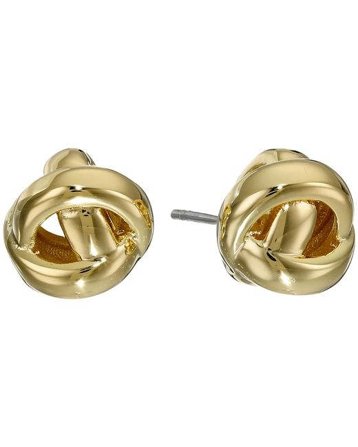 Kate Spade | Metallic Dainty Sparklers Knot Studs Earrings | Lyst