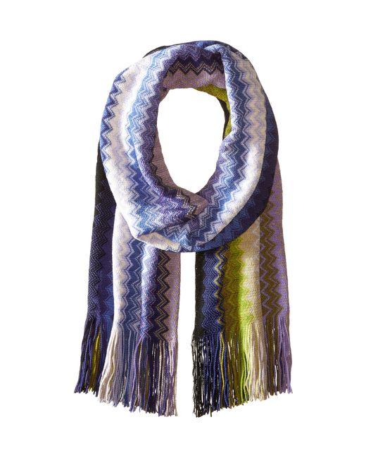 Missoni   Multicolor Crochet-knit Scarf   Lyst