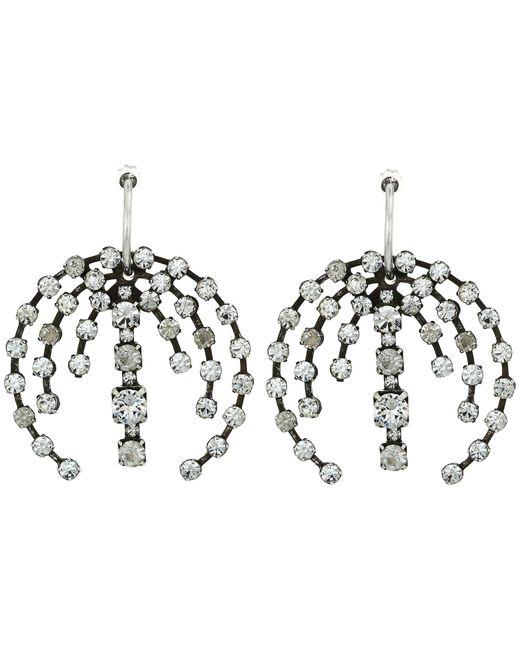 DANNIJO | Metallic Axial Earrings | Lyst