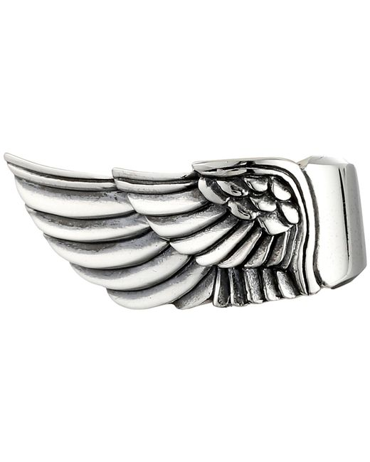 King Baby Studio   Metallic Wing Ring   Lyst
