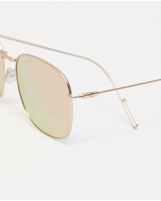 Zara Glasses Frames : Zara Sunglasses With Metal Frame in Multicolour Lyst