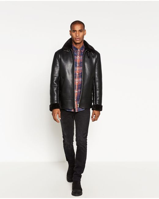Zara | Red Checked Shirt for Men | Lyst