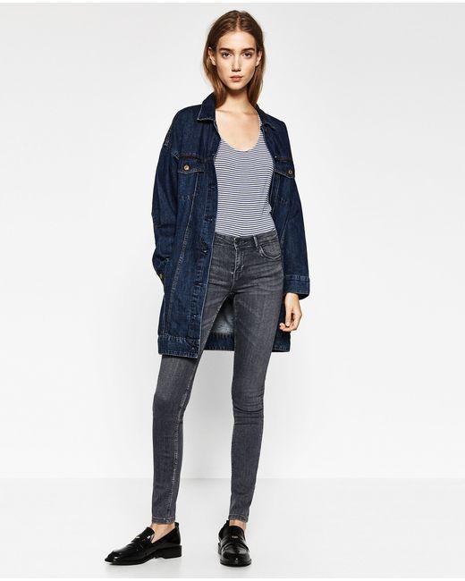 Zara | Blue Body Curve Jeggings | Lyst