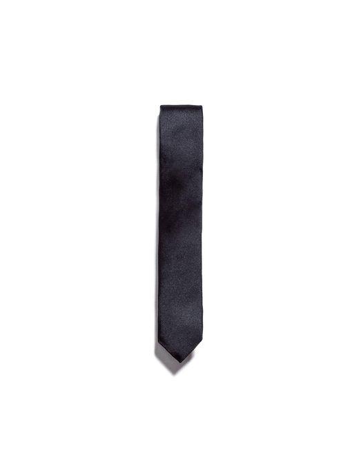 Zara | Black Satin Tie for Men | Lyst