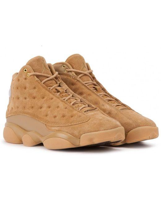 "Nike Men's Natural Nike Air Jordan Xiii Retro Gs ""wheat"""