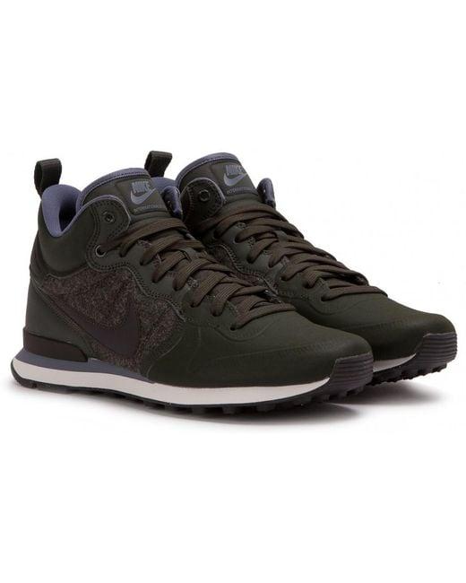 "Nike Men's Gray Nike Internationalist Utility ""wool Upper Pack"""