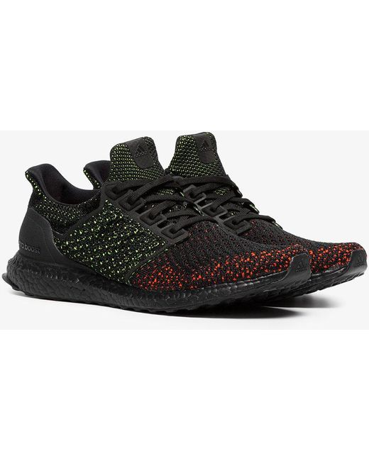 adidas Originals Men's Black And Red Ultraboost Clima Sneakers