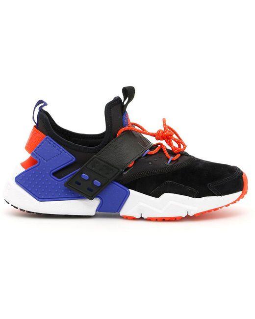 Nike Men's Black Air Huarache Drift Sneakers