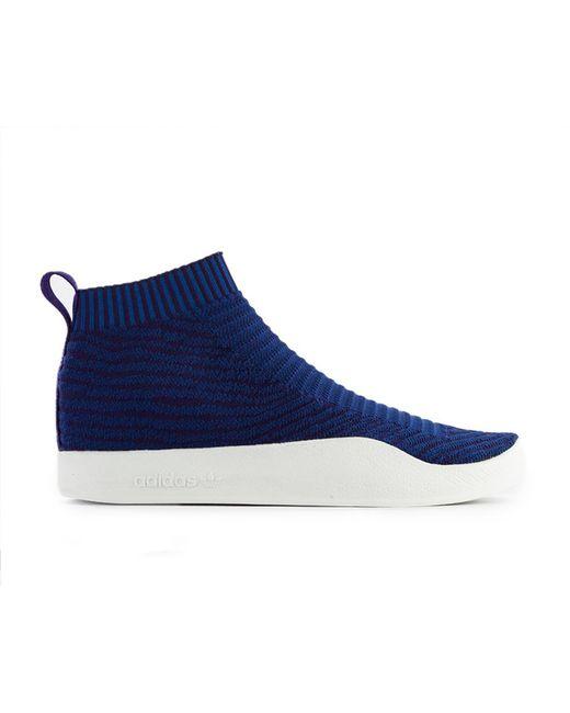 adidas Originals Men's Orange Adidas Adilette Primeknit Sock (cm8227)