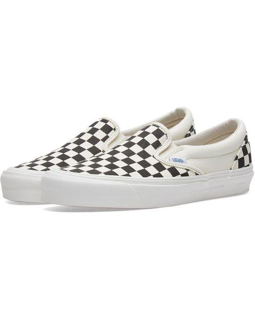 Vans Men's White Og Slip On 59 Lx