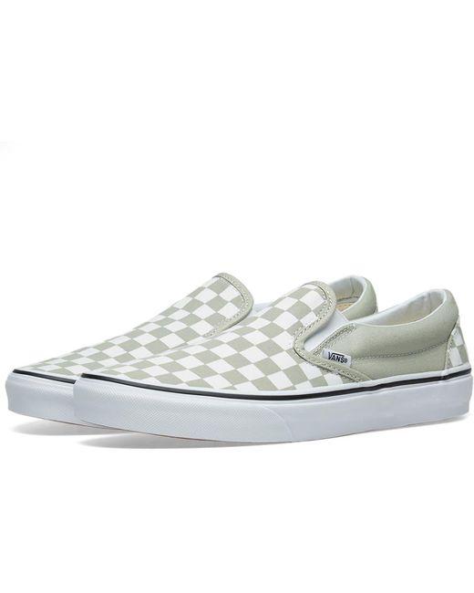 Vans Men's Og Slip On Checkerboard Sneakers