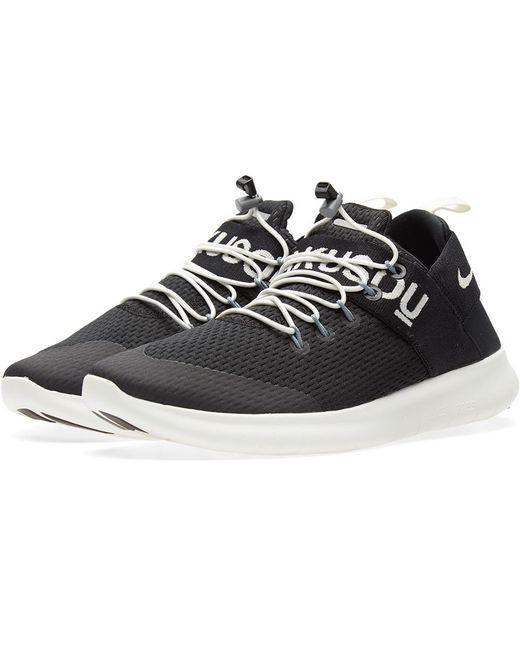 Nike Men's Gray Free Rn Commuter 2017 Sneakers