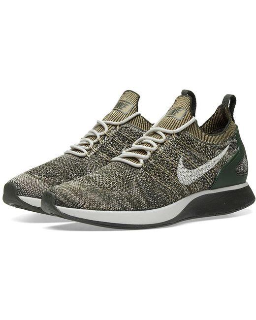 Nike Men's Green Air Zoom Mariah Flyknit Racer W