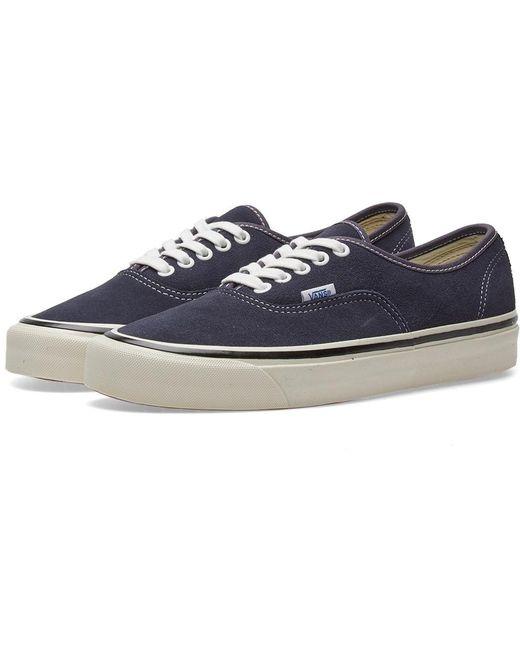 Vans Men's Blue Authentic 44 Dx