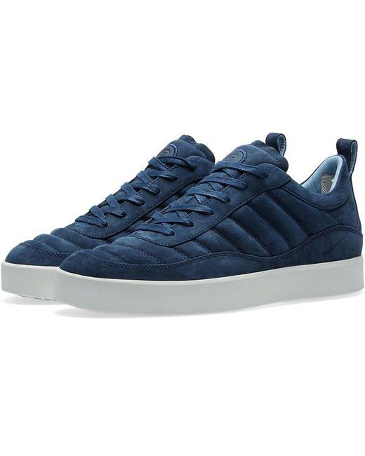 Nike Men's Blue Court Oscillate Evolve X Rf Sneakers