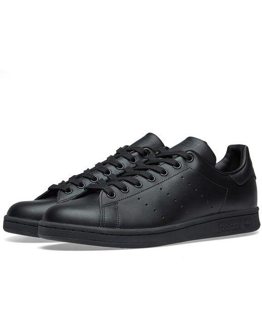 adidas Men's Black Stan Smith Vulc Shoe