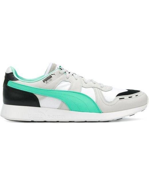 PUMA Men's White Rs-0 Re-invention Sneakers