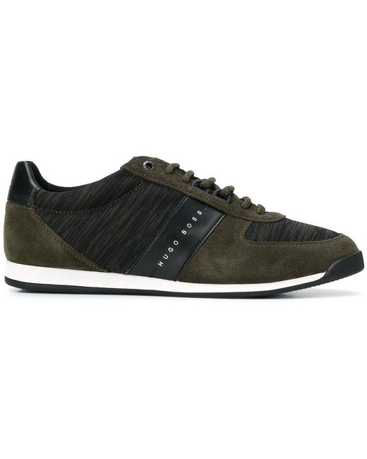 adidas Originals Men's Blue I-5923 Jersey & Suede Sneakers