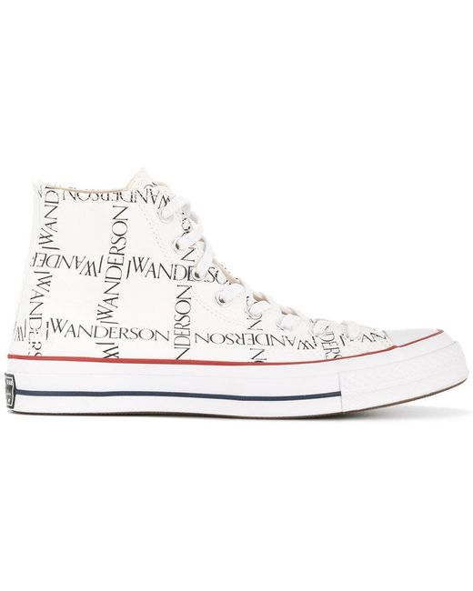 Converse Men's White 1970s All Star High Top Sneakers