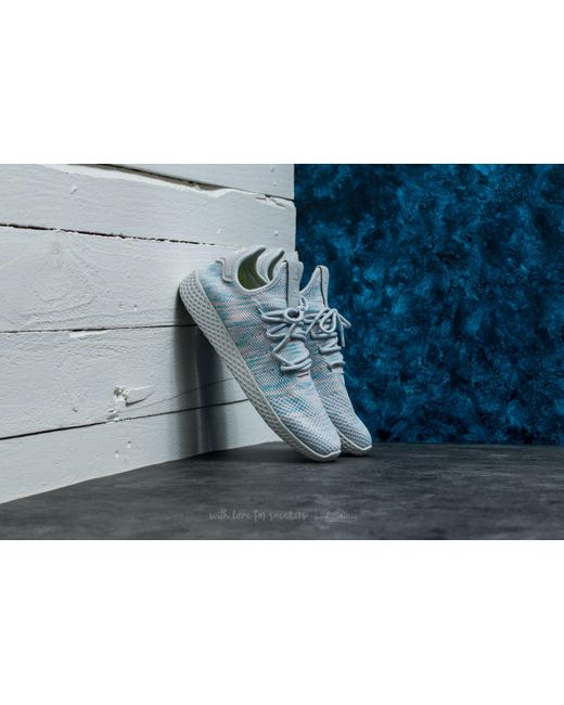 adidas Originals Men's Pink Pharrell Williams Tennis Hu Sneakers