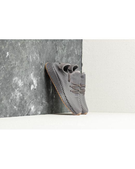 adidas Originals Men's Gray Tubular Shadow Grey Three/clear Brown