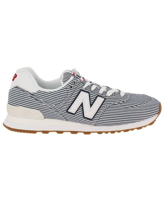 New Balance White Sneakers Men