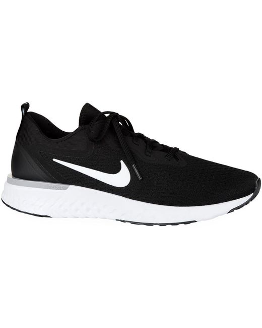 Nike White And Orange React Element 87 Sneakers